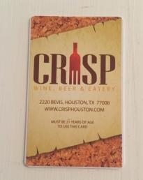 Crisp card