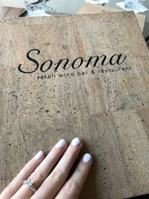 sonoma menu